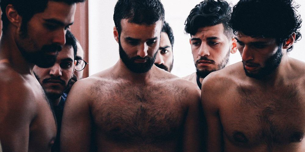 Still from the film Martyr, directed by Mazen Khaled